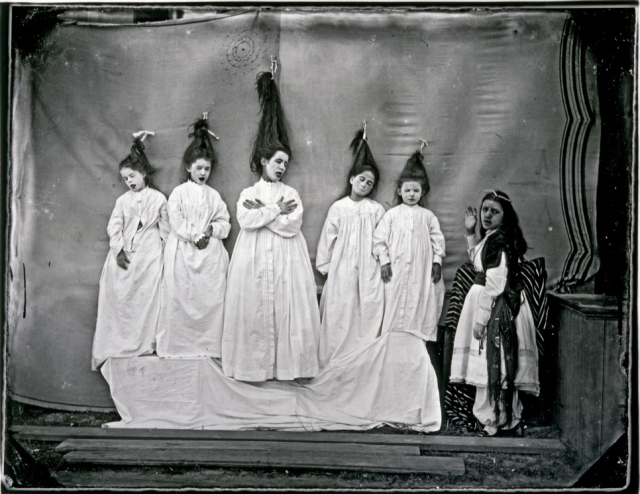 A Children's Play (Bluebeard's Wives), ca. 1866, printed ca. 1975